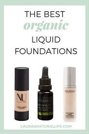 the best organic liquid foundations