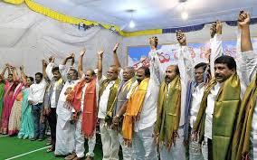Reddy community members demand OBC status - The Hindu