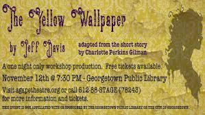 the yellow wallpaper ctx live theatre