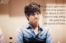 interesting life journey inspirational quotes from exo member
