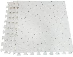 White With Stars Interlocking Floor Foam Buy Online In Colombia At Desertcart