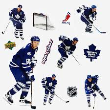 Upper Deck 11pc Nhl Wall Sticker Set Toronto Maple Leafs Target