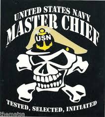 Navy Master Chief Petty Officer Skull 5 Sticker Decal Ebay