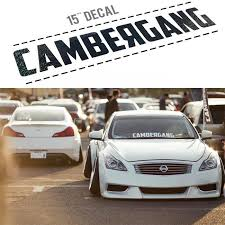 Cambergang European And American Street Fashion Personality Modified Car Stickers Waterproof Gear After Gear Sticker Spent Widening Ago