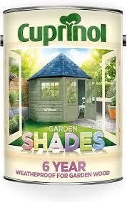Cuprinol Cupgswil5l 5 Litre Garden Shades Paint Willow Amazon Co Uk Diy Tools