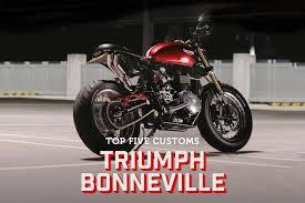 triumph bonneville customs trackday hub