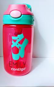Dance Water Bottle Diy Water Bottle Stickers Ballet Shoes Bottle Custom Water Bottle Personalized Dancer Gift