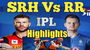 ipl 2020 highlights / srh vs rr 2020 ...