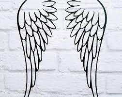 Child Angel Decal Etsy