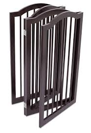 Internets Best Pet Gate With Arched Top 4 Panel 36 Inch Tall Fence Free Standing Folding Z Shape Indoor Doorway Hall S Puppy Gates Pet Gate Dogs And Puppies