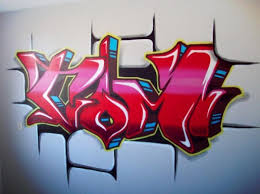 draw graffiti names with style