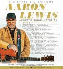 Aaron Lewis To Kick Off 2019 With New Acoustic Tour :