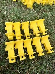 Dare Woodex Wood Post Insulator Extender For Electric Fence 10 Ct 38923019151 Ebay