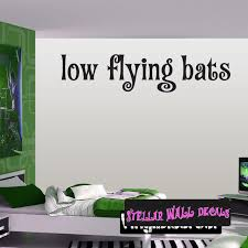 Halloween Low Flying Bats Holiday Wall Decals Wall Quotes Wall Murals Arth3d2 Swd