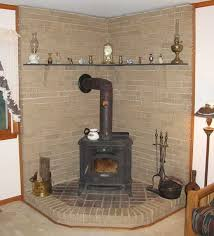 pictures of installed wood stoves