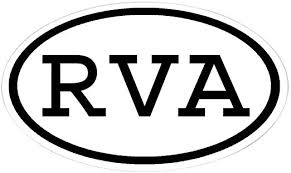 Amazon Com Cafepress Rva Oval Oval Sticker Oval Bumper Sticker Euro Oval Car Decal Home Kitchen