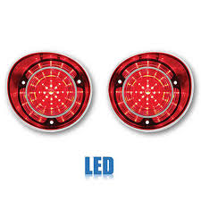 red led lh rh l brake turn signal