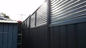 Colorbond Fence Louvre Height Extension Panels 600mm H Backyard Fences Gumtree Australia Fence Toppers