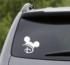 Walt Life Mickey Ears Disney Car Decal Sticker Decals Stickers Vinyl Art Choose Color Decals Stickers Vinyl Art Home Decor
