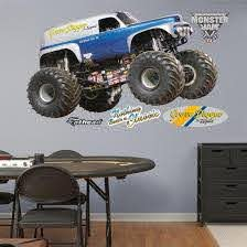 Monster Jam Grave Digger The Legend Wall Decal Wall Decal Allposters Com
