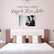 Amazon Com And They Lived Happily Ever After Wall Decal Happily Ever After Wall Sticker Handmade