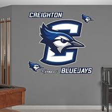 Creighton Bluejays Logo Giant Officially Licensed Removable Wall Decal Carolina Panthers Panthers Carolina Panthers Football