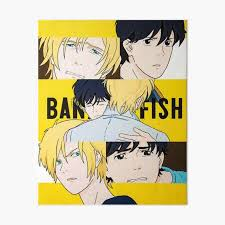 "banana fish painting"" Art Board Print by addie-george 