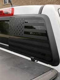 American Flag Decal Rear Window Fits 2015 Chevy Colorado Etsy Chevy Colorado American Flag Decal Chevy Colorado Accessories