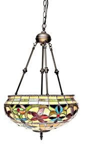 vintage tiffany style hanging lamp