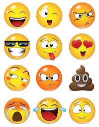 Large Emoji Faces Wall Decal Sticker 6052 Emojis Dibujos