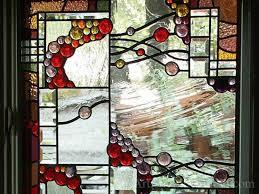 beveled leaded glass windows