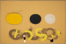 """Adolph Gottlieb: Classic Paintings"""" at Pace Offer """"Burst"""" Paintings in  their Glory 
