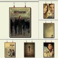 Greys Anatomy Tv Show Wonderful Retro Poster Vintage Bedroom Decoration Wall Decal Decorative Wall Decal Wall Decalsposter Vintage Aliexpress