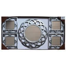 decorative wall display round 15 mirror