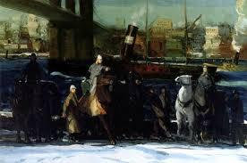 Buy George Wesley Bellows 'Snowplow' | Custom Wall art| Unique-Canvas.com