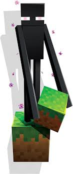 Amazon Com Jinx Minecraft Enderman Removeable Wall Cling Decal Sticker For Kids Room Home Kitchen