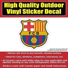 Fc Barcelona Soccer Football Vinyl Car Window Laptop Bumper Sticker De Colorado Sticker