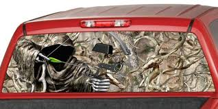 Bow Reaper Buck Skull Camo Oak Tree Hunting Rear Window Etsy