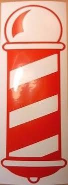 Barbers Shaver Barber Shop Window Sign Sticker Pole Vinyl Decal Wall Art Door 5 99 Picclick Uk