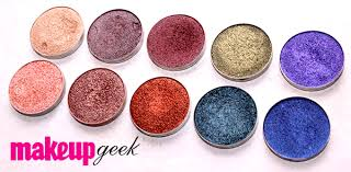 makeupgeek foiled eyeshadows review