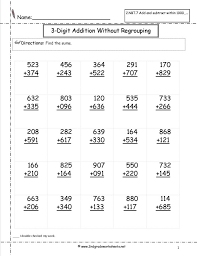 free printable k 1 math worksheets