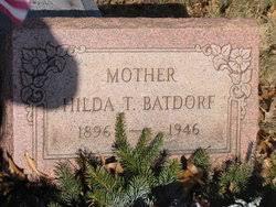 Hilda Thompson Rath Batdorf (1896-1946) - Find A Grave Memorial