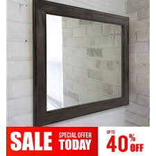 wood framed mirrors com