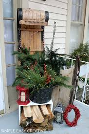 christmas porch decor hoosier homemade