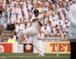 Kapil Dev batting for India during his ...