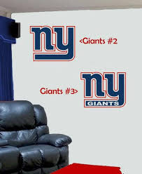 New York Giants Design 2 Or 3 Vinyl Decal For Your Car Truck Etsy