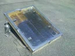 homemade solar hot water heater you