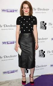 Downton Abbey's Sophie McShera Steps Out in Sexy Leather Look - E! Online