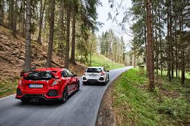 car racing honda civic type r tree