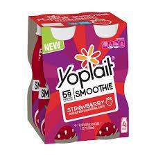 strawberry yogurt smoothie multipack